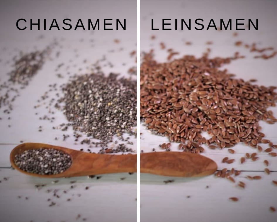 Superfoods-Chiasamen-Leinsamen