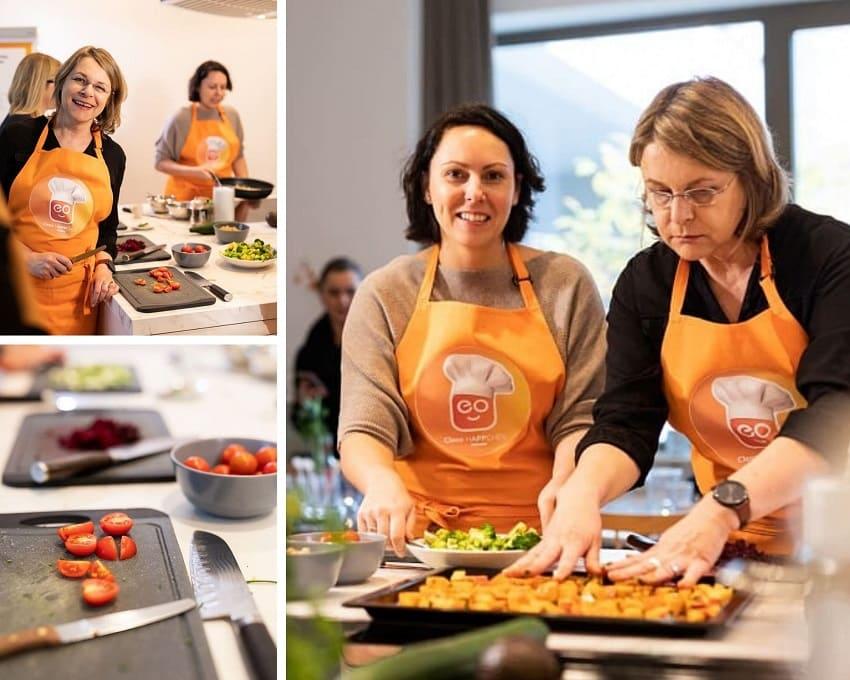 Kochevent Cleos hAPPchen mit Caro von frauenpowertrotzms
