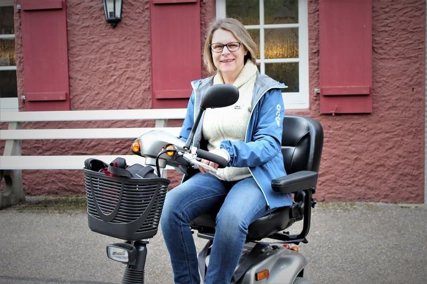 Elektromobile und Scooter als Hilfsmittel bei MS-E-Mobil mit Multiple Sklerose