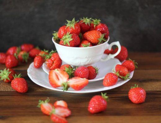 Erdbeeren gesund uns linolsäurearm