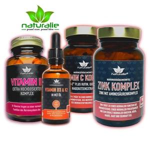 Vitamine und Mineralstoffe von naturalie