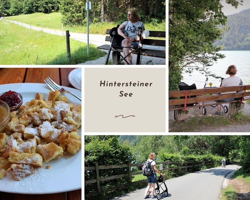 Ferien mit Handicap MS - Scheffau Hintersteiner Badesee
