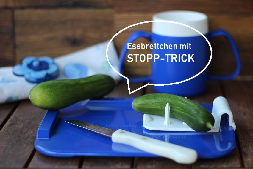 ssbrettchen mit STOPP-TRICK von ORNAMIN!