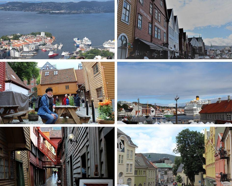 Bergen-Norwegen-reisen mit Behinderung
