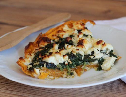 Ernährung und MS Auflauf mit Süßkartoffeln und Spinat