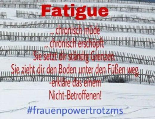 Fatigue bei MS